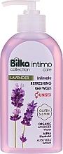 Parfémy, Parfumerie, kosmetika Intimní hygienický gel - Bilka Intimate Refreshing Lavender Gel Wash