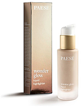 Parfémy, Parfumerie, kosmetika Tekutý rozjasňovač - Paese Wonder Glow Liquid Highlighter
