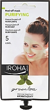 Parfémy, Parfumerie, kosmetika Maska na obličej - Iroha Nature Green Tea Purifying Peel-Off Mask