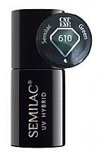 """Parfémy, Parfumerie, kosmetika Gel lak na nehty """"Kočičí Oko"""" - Semilac UV Hybrid Cat Eye"""