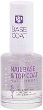 Parfémy, Parfumerie, kosmetika Podkladový a vrchní lak na nehty - Rimmel Nail Nurse 5 in 1 Nail Base & Top Coat