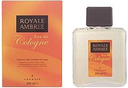 Parfémy, Parfumerie, kosmetika Legrain Royale Ambree - Kolínská voda