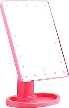 Parfémy, Parfumerie, kosmetika Velké kosmetické zrcadlo, růžové - Lewer