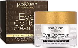 Parfémy, Parfumerie, kosmetika Konturovací krém -gel na pokožku kolem očí - PostQuam Eye Contour Cream Gel