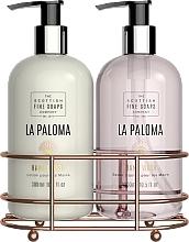 Parfémy, Parfumerie, kosmetika Sada - Scottish Fine Soaps La Paloma Hand Care Set (h/lot/300ml + h/soap/300ml)