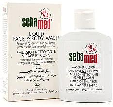 Parfémy, Parfumerie, kosmetika Sprchová emulze na obličej a tělo - Sebamed Liquid Face & Body Wash