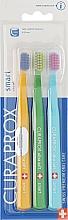 Parfémy, Parfumerie, kosmetika Sada zubních kartáčků pro děti Smart, oranžový, zelený, modrý - Curaprox