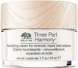 Parfémy, Parfumerie, kosmetika Hydratační krém na obličej - Origins Three Part Harmony Nourishing Cream