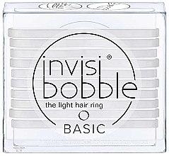 Parfémy, Parfumerie, kosmetika Sada gumiček na vlasy - Invisibobble Basic Crystal Clear