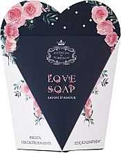 Parfémy, Parfumerie, kosmetika Přírodní mýdlo Srdce v dárkové krabičce - Essencias De Portugal Love Soap Inside Of Limited Rose Edition