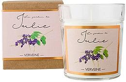 Parfémy, Parfumerie, kosmetika Aromatická svíčka Verbena - Ambientair Le Jardin de Julie Verveine