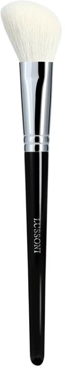 Zkosený štětec na tvářenku - Lussoni PRO 306 Small Angled Brush