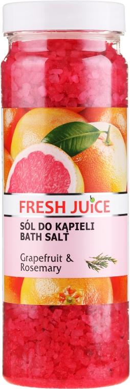 Koupelová sůl - Fresh Juice Grapefruit and Rosemary