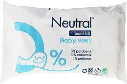 Parfémy, Parfumerie, kosmetika Dětské vlhčené ubrousky - Neutral Baby Wet Wipes