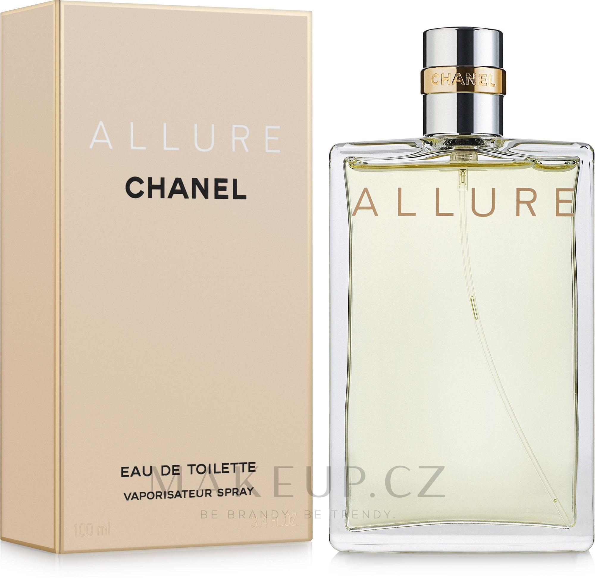 Chanel Allure - Toaletní voda — foto 100 ml