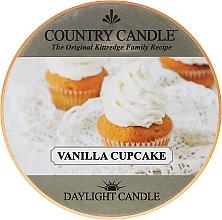 Parfémy, Parfumerie, kosmetika Čajová svíčka - Country Candle Vanilla Cupcake Daylight