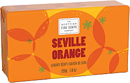 Parfémy, Parfumerie, kosmetika Mýdlo - Scottish Fine Soaps Seville Orange Luxury Wrapped Soap