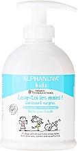 Parfémy, Parfumerie, kosmetika Dětské tekuté mýdlo na ruce - Alphanova Kids Wash Your Hands