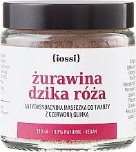 """Parfémy, Parfumerie, kosmetika Maska na obličej """"Brusinka a divoká růže"""" - Iossi Face Mask"""