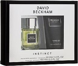 Parfémy, Parfumerie, kosmetika David Beckham Instinct - Sada (edt/30ml + sh/gel/150ml)