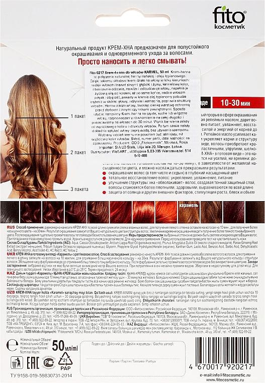 Krémová henna v hotovém stavu s lopuchovým olejem - Fito Kosmetik  — foto N2