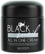 Parfémy, Parfumerie, kosmetika Krém s černým šnekem - Mizon Black Snail All In One Cream