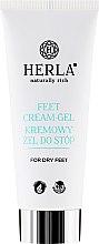Parfémy, Parfumerie, kosmetika Krémový gel pro suchou pokožku nohou - Herla Feet Cream-Gel