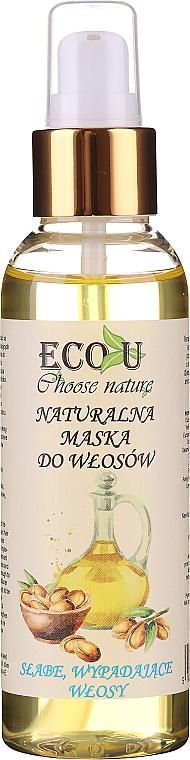 Přírodní maska pro oslabené a vypadávající vlasy - Eco U Choose Nature