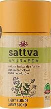 Parfémy, Parfumerie, kosmetika Barva na vlasy - Sattva Ayuvrveda