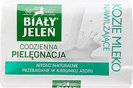 Parfémy, Parfumerie, kosmetika Hypoalergenní mýdlo s kozím mlékem - Bialy Jelen Hypoallergenic Soap With Goat Milk