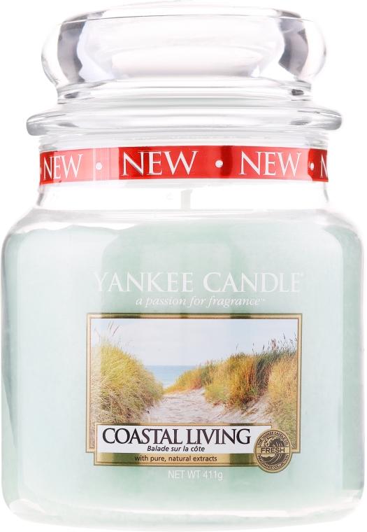 Svíčka ve skleněné nádobě - Yankee Candle Coastal Living — foto N1