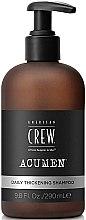 Parfémy, Parfumerie, kosmetika Šampon na vlasy - American Crew Acumen Daily Thickening Shampoo