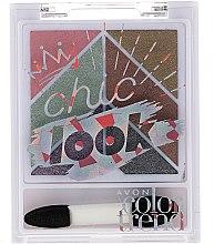 Parfémy, Parfumerie, kosmetika Paleta očních stínů - Avon Color Trend Chic Look Eyeshadow Palette