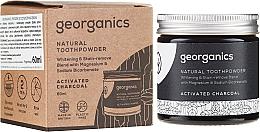 Parfémy, Parfumerie, kosmetika Přírodní zubní prášek - Georganics Activated Charcoal Natural Toothpowder