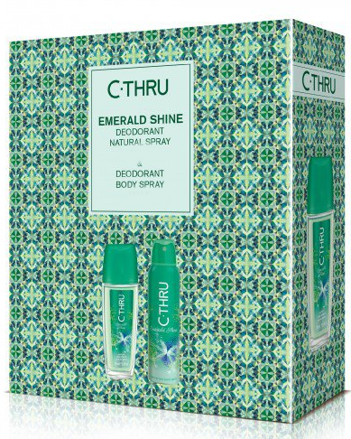 C-Thru Emerald Shine - Sada (deo/spay/150ml + deo/75ml)