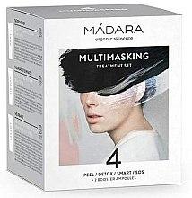 Parfémy, Parfumerie, kosmetika Sada - Madara Cosmetics Multimasking Treatment Set (f/mask/12,5ml*4 + f/ampoule/3ml*2)