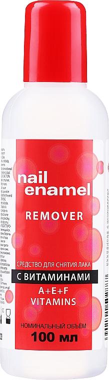 Odlakovač s vitamíny - Venita Vitamin A+E+F Nail Enamel Remover