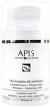 Parfémy, Parfumerie, kosmetika Směs kyselin na peeling - APIS Professional Lacticion + Pirogron + Milk + Azelaine 40%