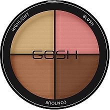 Parfémy, Parfumerie, kosmetika Konturovací paleta - Gosh Contour Strobe Kit
