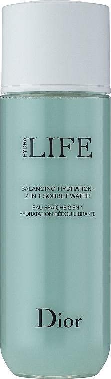 Hydratační sorbetový krém 2-v-1 - Dior Hydra Life Balancing Hydration 2-in-1 Sorbet Water — foto N2