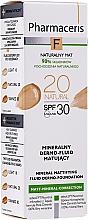 Parfémy, Parfumerie, kosmetika Minerální matující fluid SPF 30 - Pharmaceris F Mineral Mattifying Fluid Dermo-Foundation SPF 30