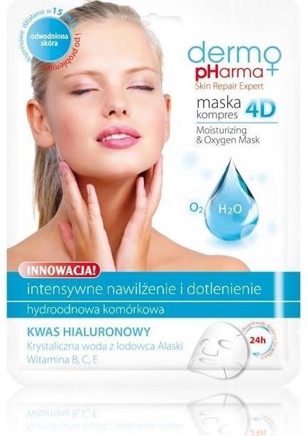 Maska na obličej - Dermo Pharma Skin Repair Expert Skin Lightening Face Mask 4D — foto N1