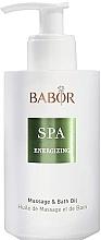Parfémy, Parfumerie, kosmetika Masážní a koupelový olej - Babor Energizing Massage & Bath Oil