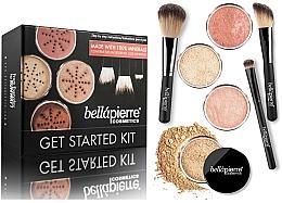 Parfémy, Parfumerie, kosmetika Základní make-up sada - Bellapierre Get Started Kit Medium