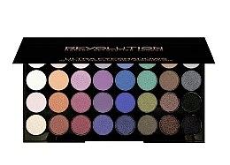Paleta očních stínů, 32 odstínů - Makeup Revolution Ultra 32 Shade Palette Mermaids Forever — foto N1