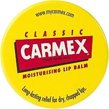 """Parfémy, Parfumerie, kosmetika Balzám na rty """"První pomoc pro rty"""" ve sklenici - Carmex Lip Balm Original"""