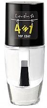 Parfémy, Parfumerie, kosmetika Zpevňující vrchní vrstva na nehty - Lovely 4-in-1 Nail Top Coat