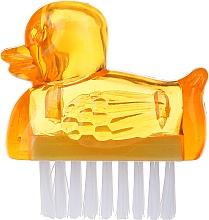 Parfémy, Parfumerie, kosmetika Kartáč na manikúru, 3467, žlutý - Deni Carte Duck's Brush