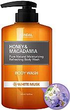 """Parfémy, Parfumerie, kosmetika Sprchový gel """"Bílé pižmo"""" - Kundal Honey & Macadamia Body Wash White Musk"""