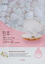 Parfémy, Parfumerie, kosmetika Látková maska s perlovým extraktem - Esfolio Pearl Essence Mask Sheet